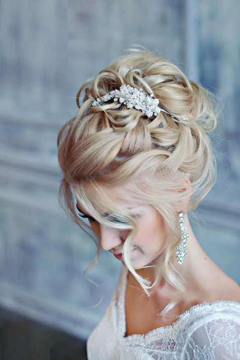novia wedding hairstyles
