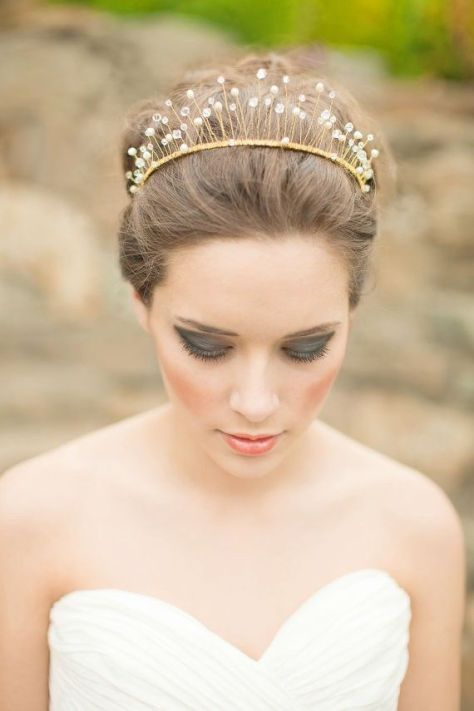 wedding hairstyles crown