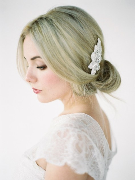wedding hairstyles with comb