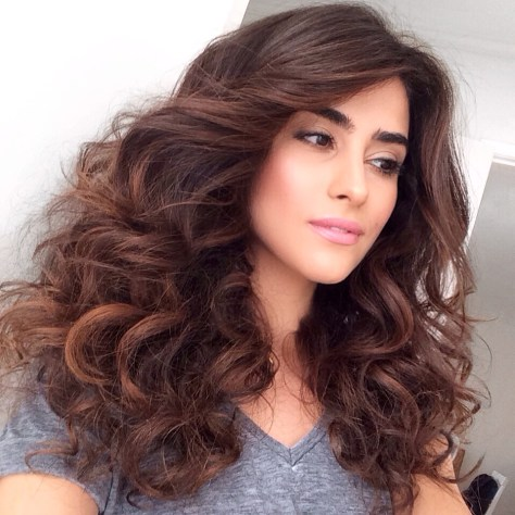 big curly hairstyles