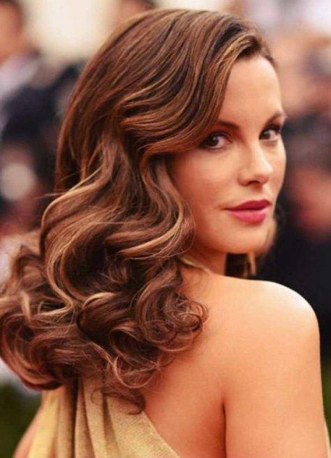 elegant curly hairstyles