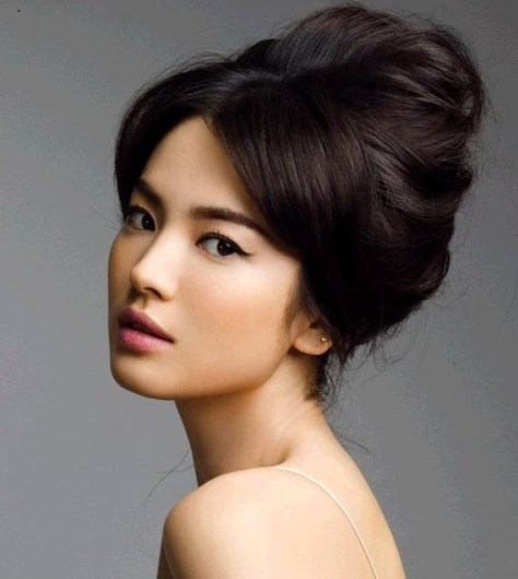 prom hairstyles asian