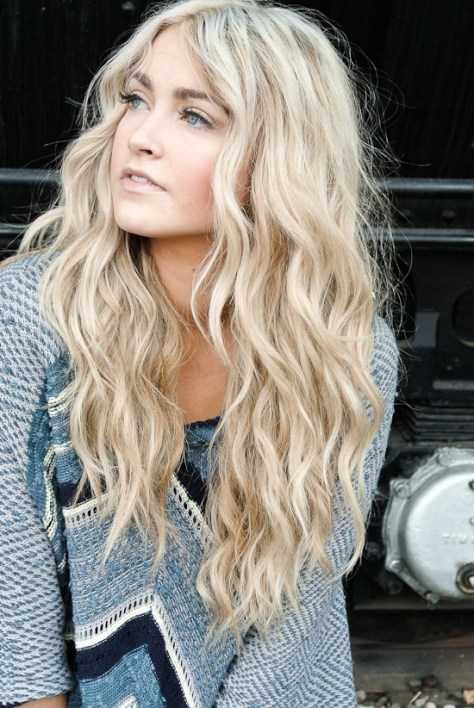 loose curly hairstyles