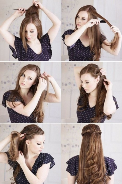 diy curly hairstyles
