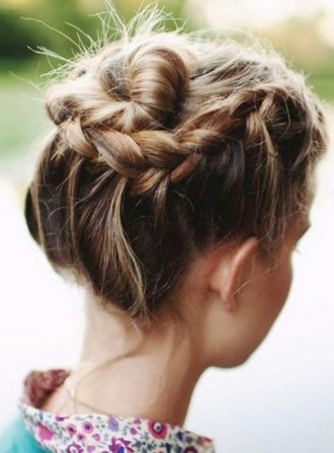 medium hairstyles braids