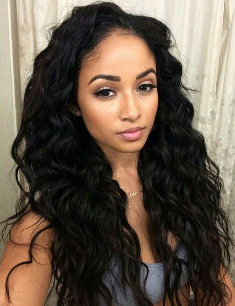 wavy black hairstyles