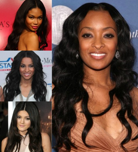 black hairstyles extensions