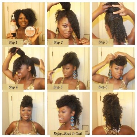 black hairstyles tutorial