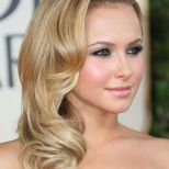 Side Swept Waves Hairstyles