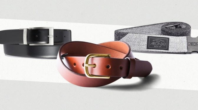 A Man's Guide to Purchasing the Right Belt
