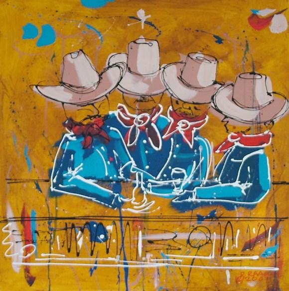 """The Quartet"" by Ron Raasch"