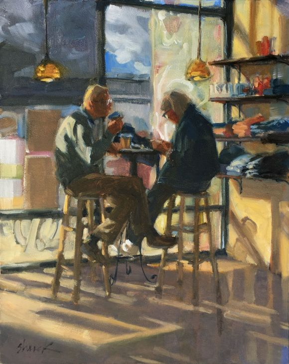 Afternoon Coffee by Vicki Shuck