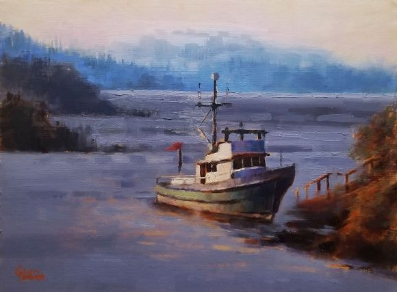 Anchored in Brentwood Bay by Charity Hubbard
