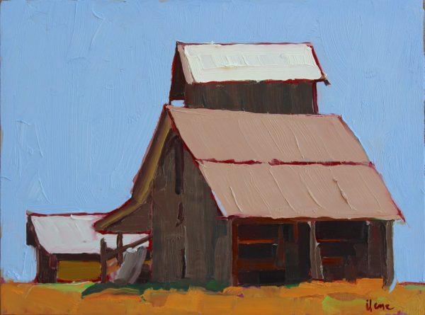 Little Barn on the Prairie by Ilene Gienger-Stanfield