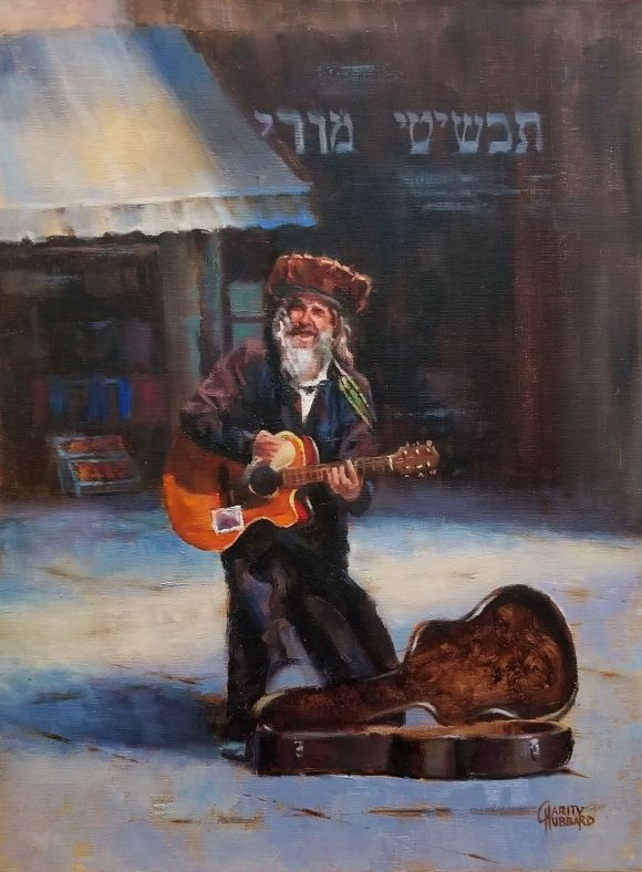 Music on Jafo Street by Charity Hubbard