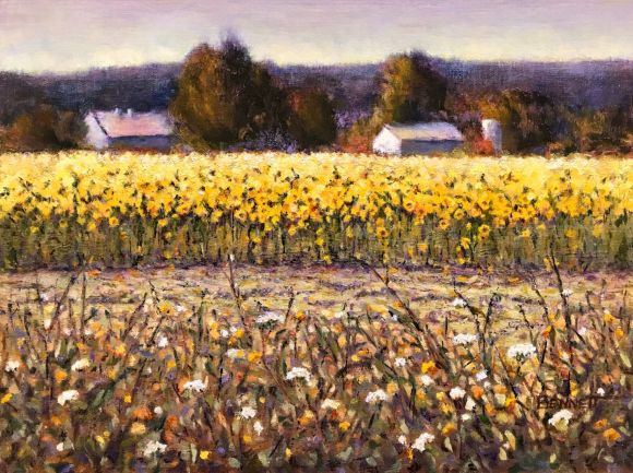 New Morning Suns by Sue Bennett