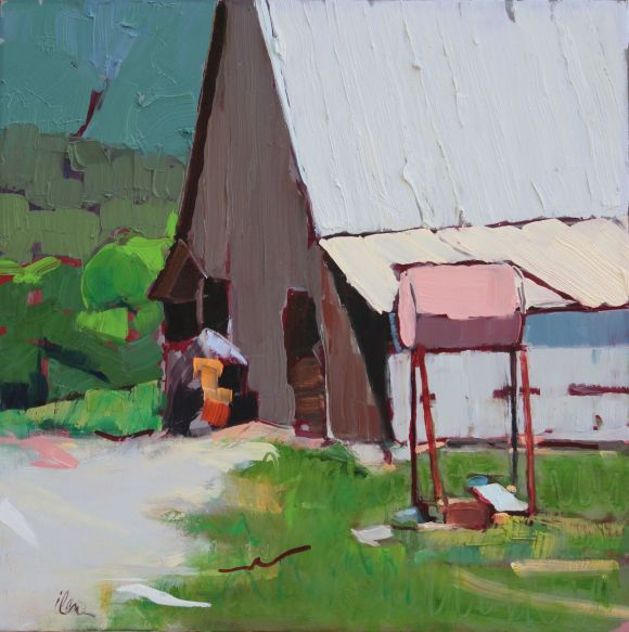 Orchard Barn by Ilene Gienger-Stanfield
