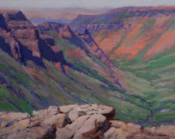 Oregon Outback - Kiger Gorge by Dale Landrum