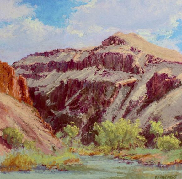 Overlooking the Owyhee by Norma Holmes