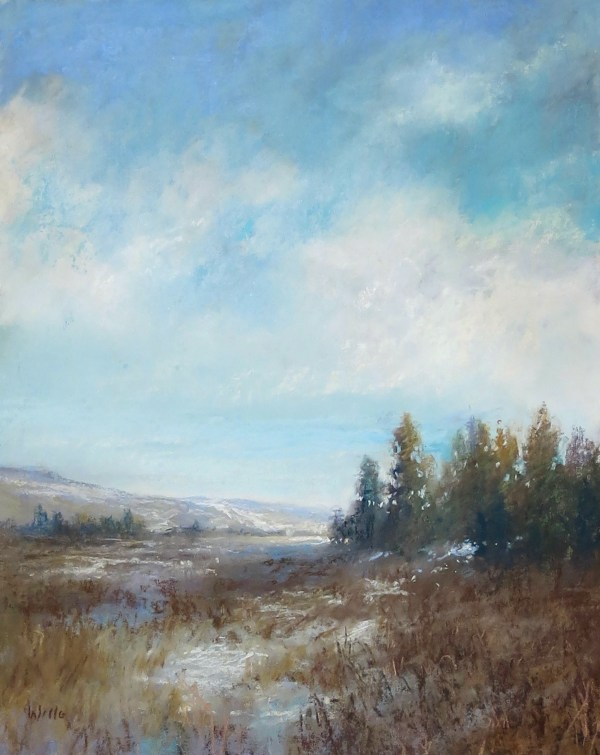 Sky Blue - Winter Cold by Willo Balfrey