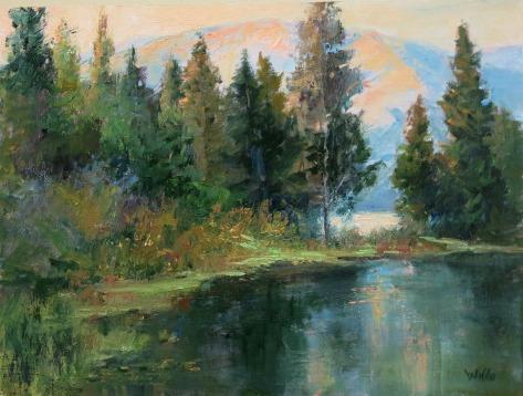 Sparks Lake by Willo Balfrey
