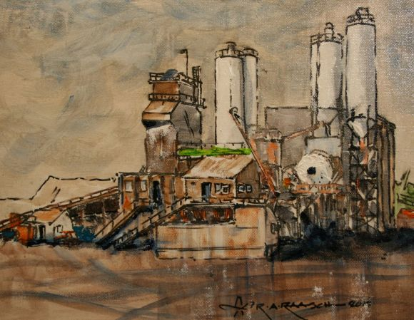 Cement Plant by Ron Raasch