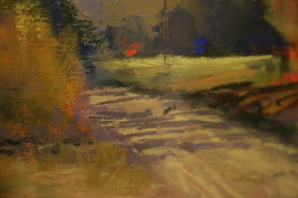 (Close-up) Road Less Travelled by Bonnie Griffith