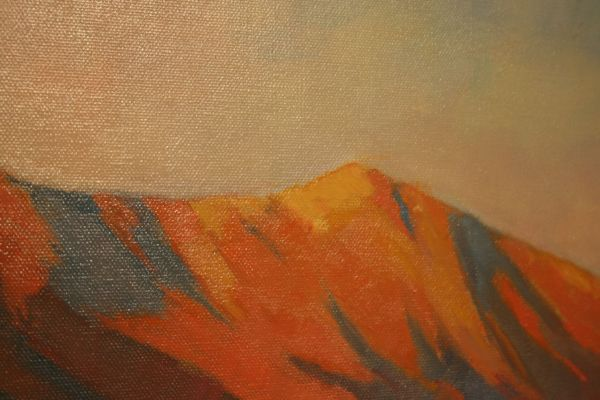 (Close-up) Vermillion Peaks by Janice Druian