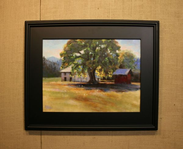 (Frame) Applegate Valley Shadows by Charity Hubbard