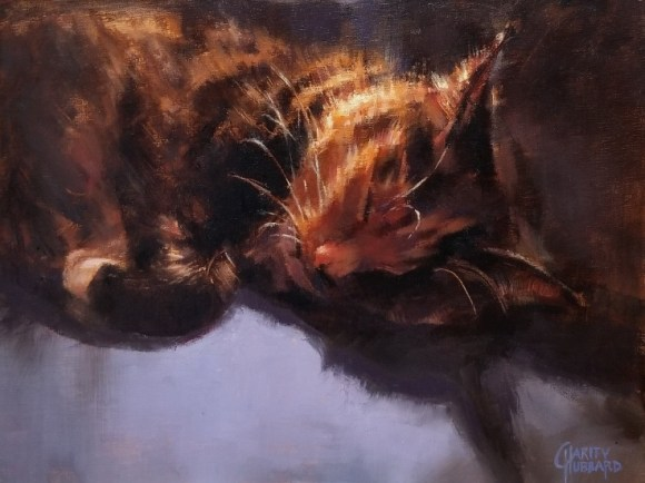 Comfy Cat by Charity Hubbard
