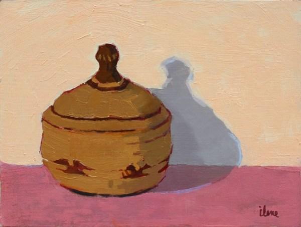 Lidded Klamath Basket by Ilene Gienger-Stanfield