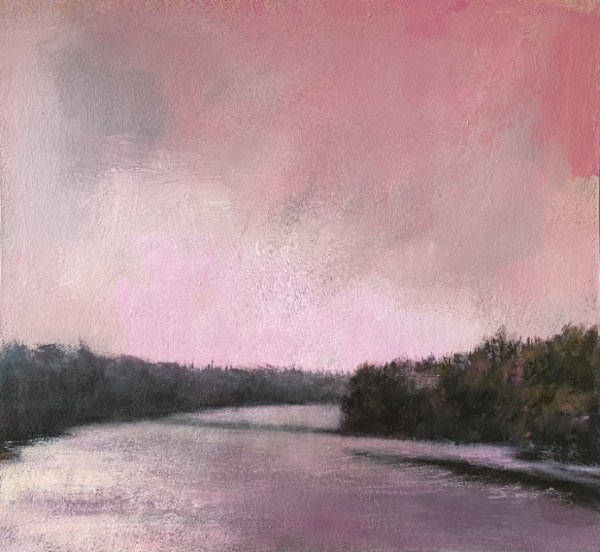 Pink Haze by Barbara Enochian