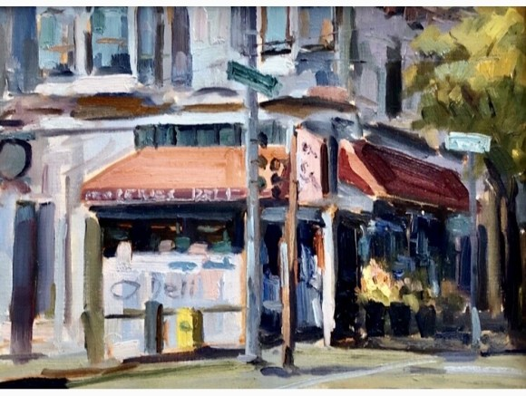 San Francisco Deli by Chuck Prudhomme