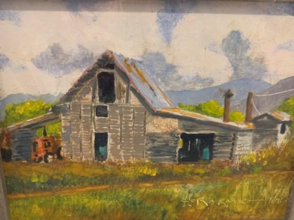 Barn II by Ron Raasch