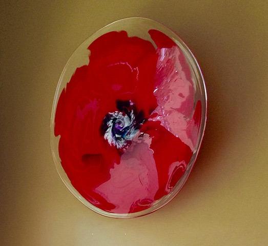 Georgia Series - Red Poppy by Nancy Becker