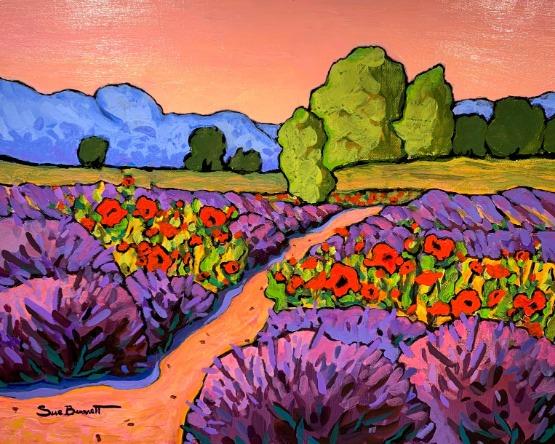 Lavender Bloom by Sue Bennett