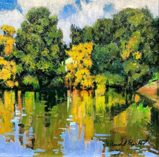 Link River by Don Prechtel