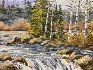 Wood River by Judy Phearson