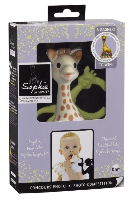 5_Sophie the Giraffe plus Vanilla Teether