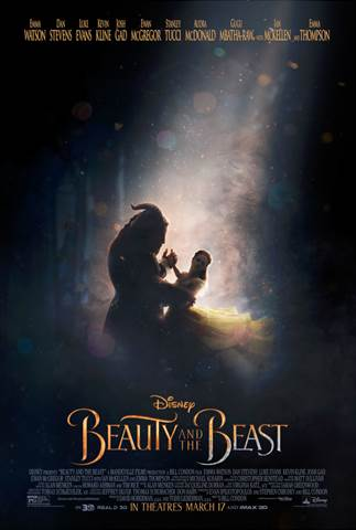 2017 Walt Disney Studios Motion Pictures Slate Beauty and the Beast