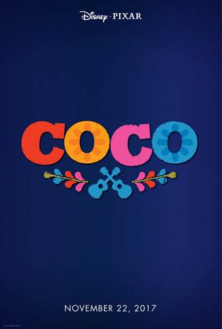 2017 Walt Disney Studios Motion Pictures Slate Coco Pixar