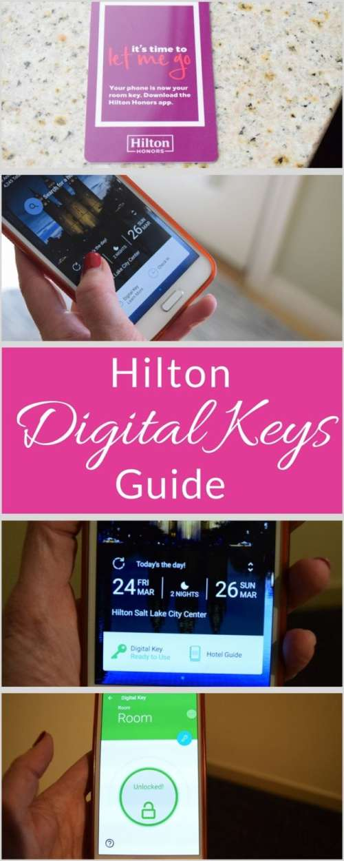 Hilton digital keys