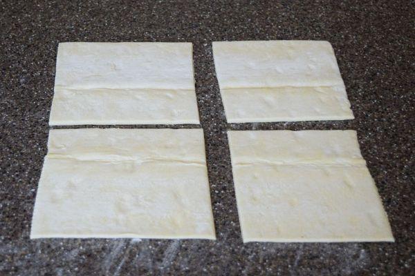 lemon cream cheese danish recipe using puff pastry