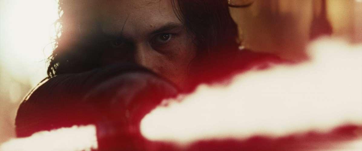 Star Wars: The Last Jedi Kylo Ren (Adam Driver)Photo: Film Frames Industrial Light & Magic/Lucasfilm©2017 Lucasfilm Ltd. All Rights Reserved.