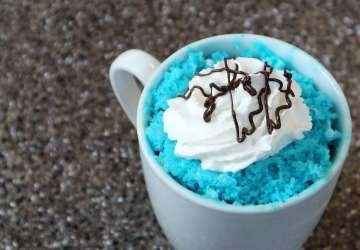 Pandora World of Avatar Blue Microwavable Mug Cake | FaveMom