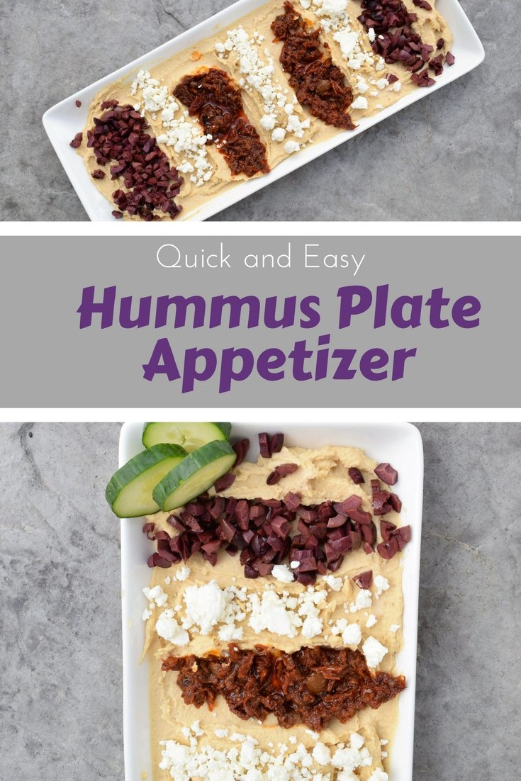 A quick and simple way to make Humus worthy of a group party without lots of work. #lifehack.