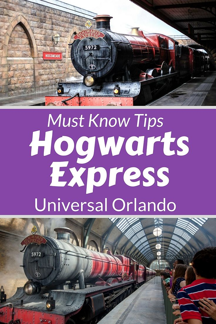 How to make sure you don't miss the Hogwarts Express at Wizarding world of Harry Potter in Universal Orlando. #readyforuniversal #harry potter #hogwartsexpress #UniversalOrlando