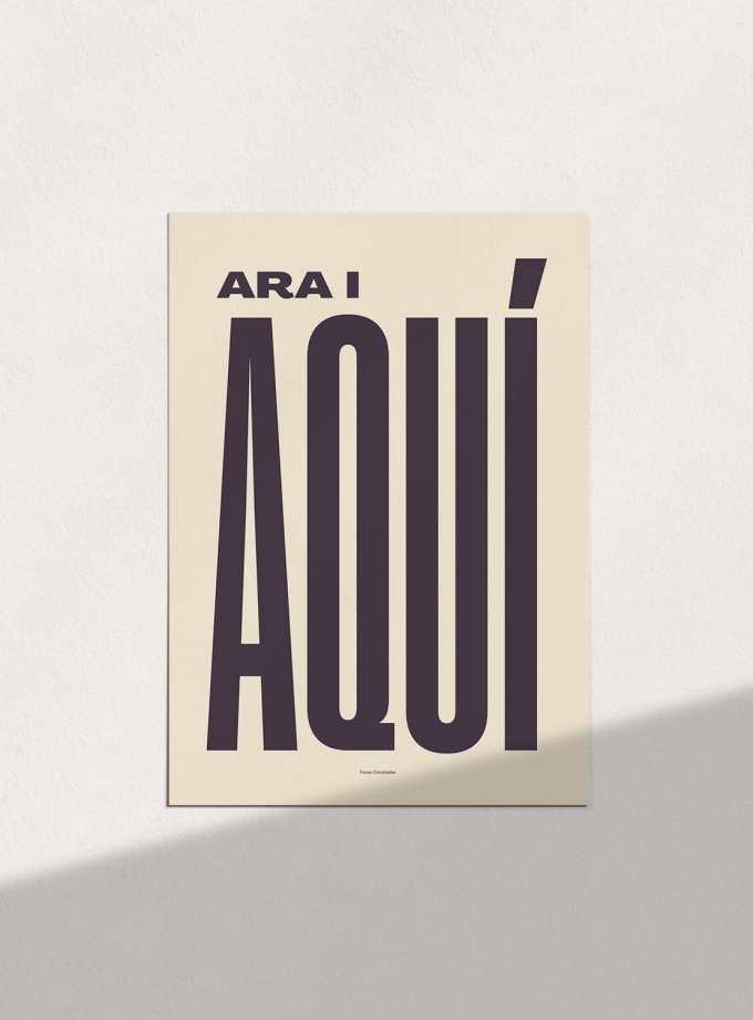 ara_i_aqui_clar_pòsters_en_català_decoracio_favescomptades