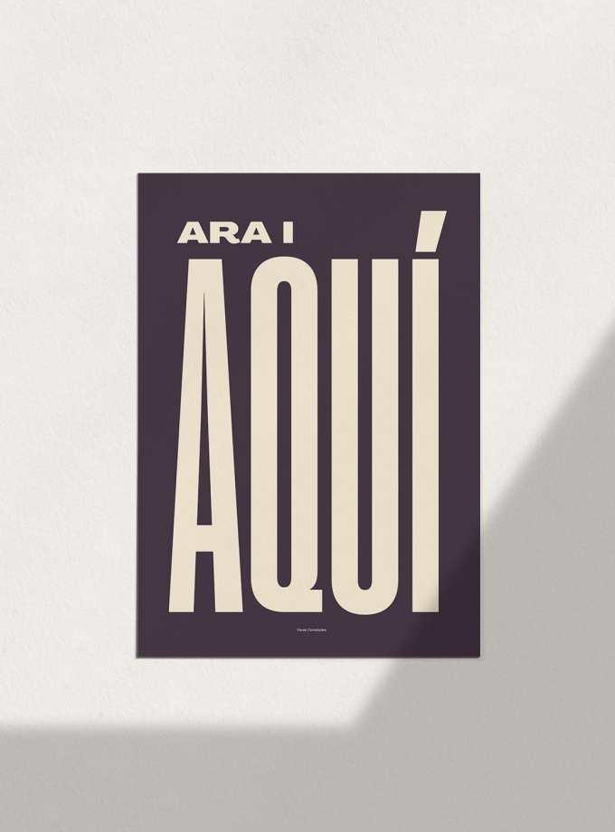 ara_i_aqui_fosc_pòsters_en_català_decoracio_favescomptades