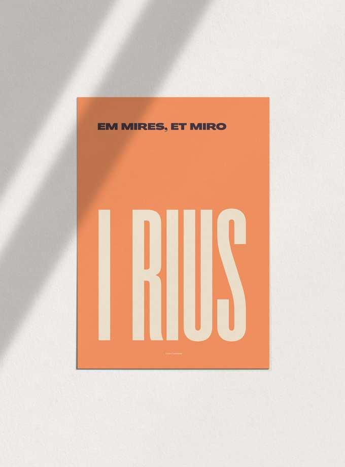 em_mires_et_miro_i_rius_fosc_pòsters_en_català_decoracio_favescomptades